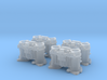 1/16 Scale Weber Down Draft Carburetors 3d printed