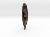 Kayak Pendant 3d printed