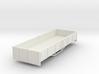 OO9 bogie 3 plank dropside  wagon (short) 3d printed
