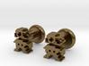 Plumber Cufflink 3d printed