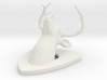 deer-on-plaque 3d printed