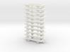 OO9 underframe (medium) 10 pack 3d printed