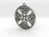 Celtic Cross Round 30mm 3d printed