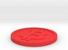 Bigger Size bitcoin (w/loop) 3d printed