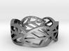 Leaf ring 3d printed