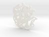 Celtic Coaster 3d printed