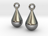 teardrop earrings 3d printed