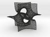 Pseudo-batwing cubelet 3d printed