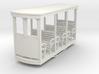 55n9 Open bogie coach -  glazed  end 3d printed