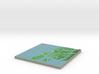 Terrafab generated model Mon Nov 18 2013 20:40:32  3d printed