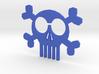 ''Skull & Bones'' Headphones Cord Manager 3d printed