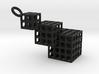 Cut Cube Binary 3d printed