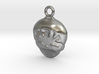 Smiling Child - head - Design for pendant/earring  3d printed