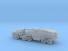Command Trailer and Cab - 1/300 scale (6mm)  3d printed