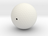 Golf ball hollow 3d printed