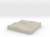 Terrafab generated model Mon Dec 09 2013 22:31:04  3d printed