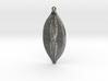 Navicula bullata earring ~ 35mm 3d printed