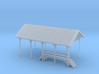 Railroad Repair Shelter 3d printed