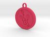 Pinkie pie pendant  3d printed