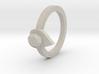 diamond heart ring 3d printed
