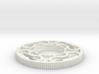 Sanwa JLW series octagonal restrictor plate 3d printed