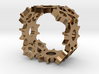 Steampunk Gear Ring 3d printed