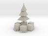 Xmas Tree and presents 3d printed