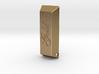 Golden Ingot Pendant 3d printed