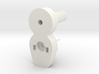Shower door hinge 3d printed
