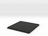 Square Model Base 60mm 3d printed