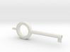 Handcuff Key Chain 3d printed