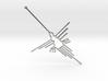 Nazca: The  Humming Bird 3d printed