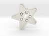XMAS STAR 328 WHEEL 80 MM 3d printed