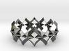 bracelet 01 Silver 3d printed