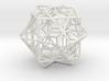 larger 3 cubes escher 3d printed