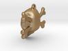 skull and bones pendant 3d printed