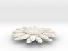 Sunflower Pendant - Bigger Loop 3d printed
