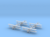 1/144 Sopwith 1 1/2 Strutter 2-seat (x4) 3d printed