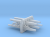 60SF01 1:6000 French T-47 Class (3+2 models) 3d printed