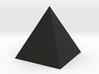 The pyramid 3d printed