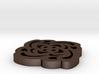 Foural Button 3d printed