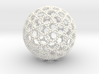 Geodesic Dome Braid Knot 3d printed