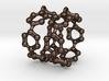 Earrings (Pair)- Molecule- Carbon Nanoring 3d printed