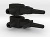 Gunslinger Pistols - Set Of 2 3d printed