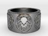 Ph'nglui mglw'nafh Cthulhu R'lyeh Ring #2, Size 10 3d printed
