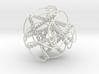 Braided Cuboctahedron 3d printed