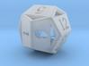 d12 pyrite 1 3d printed