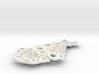 Dentelle Pendant Necklace 3d printed