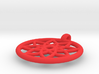 flower pendant 3d printed