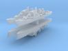 Commandante Riviera B 1:3000 x4 3d printed